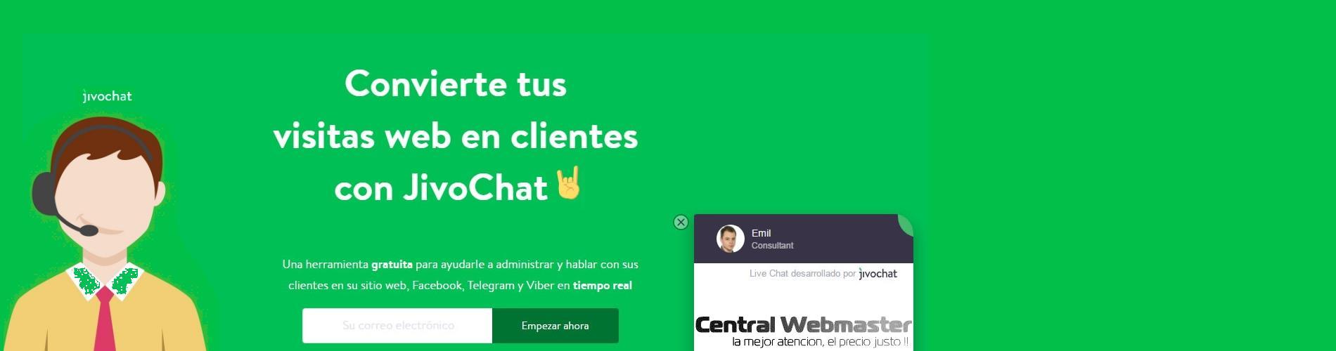 chat para sitios web